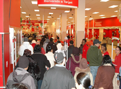 Black Friday crowd. Image courtesy of Wikimedia Commons.