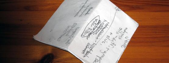 Two-bit Guru | Folded Paper | Photo of a folded piece of paper.